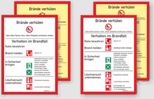 bmf brandschutzordnung - Brandschutzordnung Muster